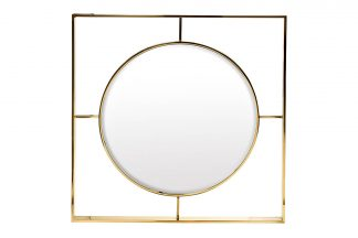 19-OA-5892 Зеркало золотое 80*80 см