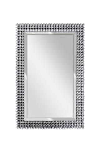 50SX-19003/1 Зеркало прямоугольное с кристалл...