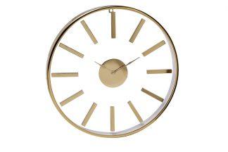 79MAL-5710-76 Часы настенные круглые золотые ...